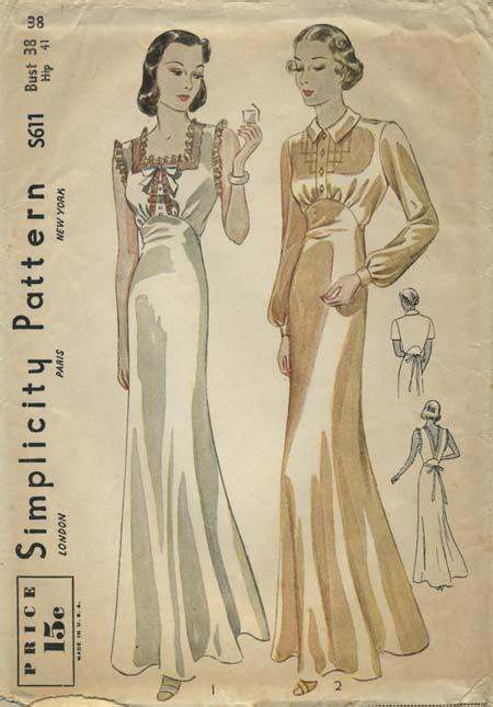 vintage nightwear pattern 53 best my vintage lingerie sleepwear and housecoats