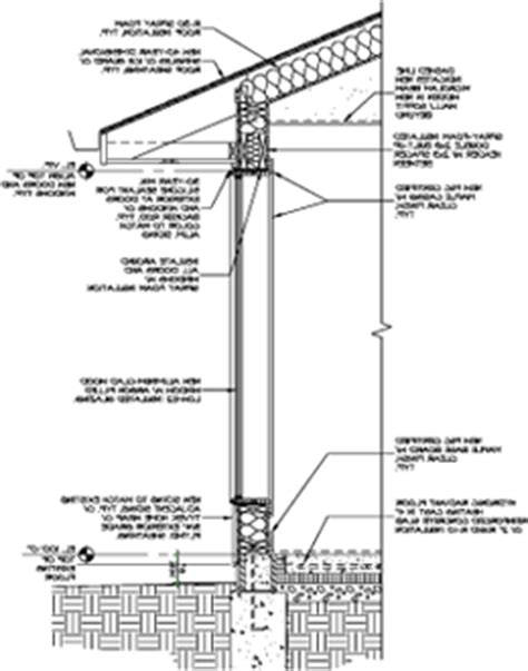residential wall section detail residential wall section dwg pictures to pin on pinterest