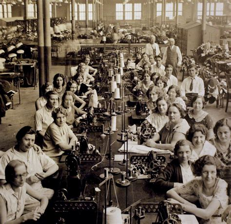 Not dial painters, but factory workers ca 1920 30 nonetheless. Wore their own clothing, not