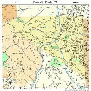 franklin map franklin park pennsylvania map 4227552