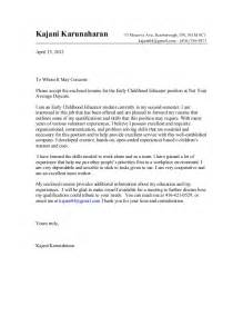 cover letter to whom exle of to whom it may concern cover letter the best