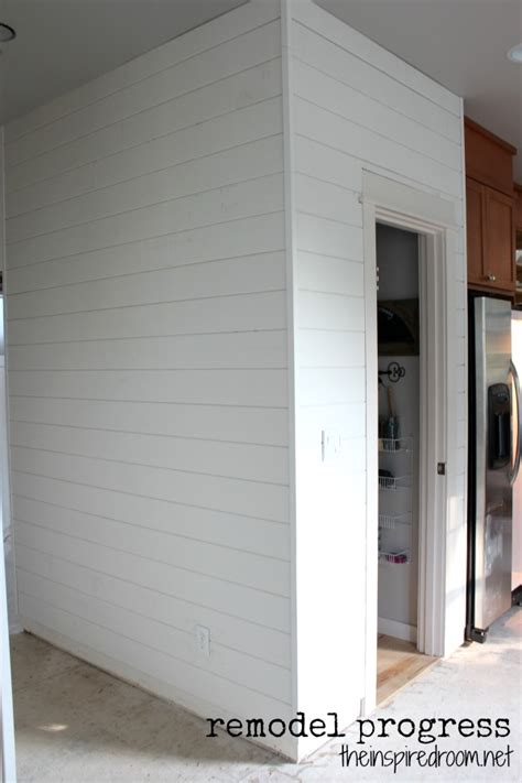 Adding Shiplap To Walls Plank Walls Adding Character Remodeling Update The
