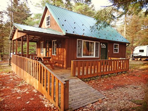 Allegheny National Forest Cabins by Pap S Cabin Cers Paradise Cground Cabins
