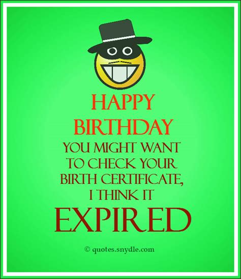 Catchy Birthday Quotes Funny Birthday Quotes Quotes And Sayings