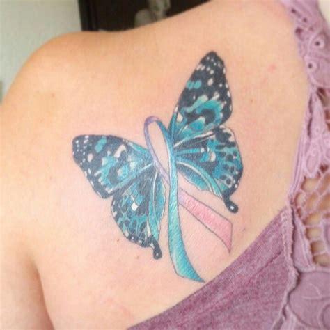 Pin Thyroid Cancer Ribbon Tattoo On Pinterest Thyroid Cancer Survivor Tattoos