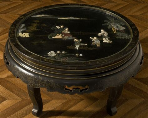 chinese antique jade inlays coffee table jade relief