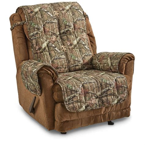 Camouflage Recliner Cover by Mossy Oak Camo Furniture Covers 647980 Furniture Covers