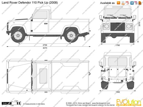land rover drawing the blueprints com vector drawing land rover defender