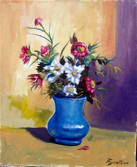 vasi con fiori quadro di luigi pignataro vaso con fiori