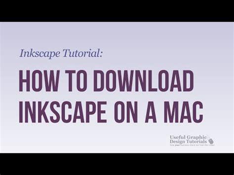 tutorial inkscape mac how to install run xquartz x11 applications on mac os x