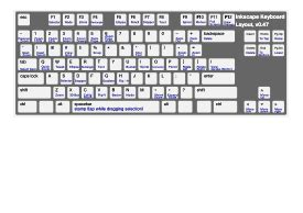keyboard layout preview inkscape keyboard layout vector free vector graphics
