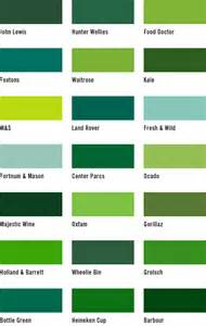 green color chart the middle class handbook home middle class