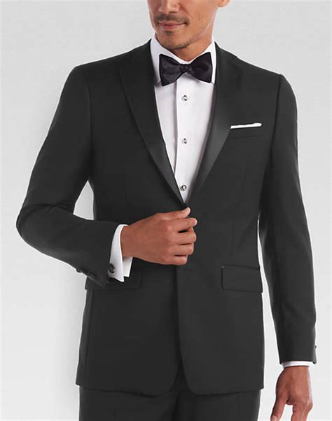 Mens Wear House by Black Slim Fit Tuxedo S Tuxedos Calvin