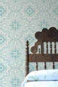 patterns for headboards spanish tile wallpaper wallpapersafari