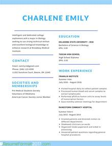 Www Resume Format by The Greatest Student Resume Format 2017 Resume Format 2017