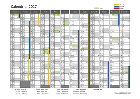 2017 Calendrier Semaine Calendrier Scolaire Guyane 2017 Clrdrs