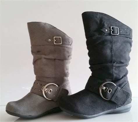 black toddler boots new toddler black or gray suede zipper boots size 4