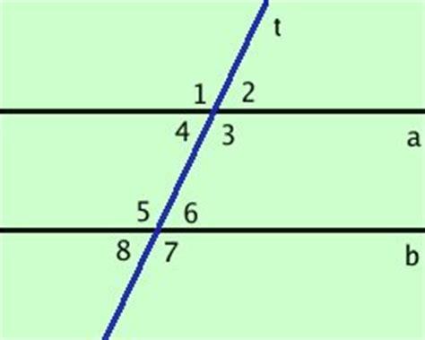 angoli alterni interni ed esterni angoli fra rette tagliate da una trasversale
