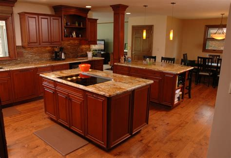 two kitchen islands 9 kitchen design ideas for entertaining