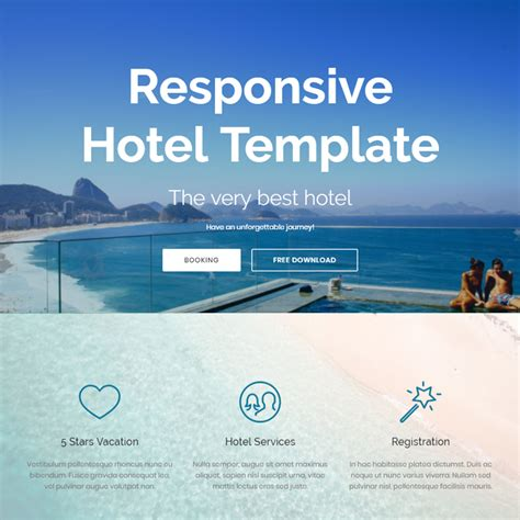 bootstrap templates for hotel free download 95 free bootstrap themes expected to get in the top in 2018