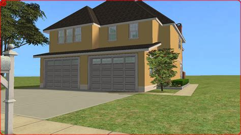 sims 2 house downloads sims 2 lot downloads large narrow house