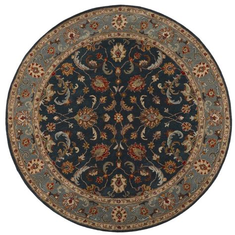 9 foot rugs home decorators collection bronte indigo 7 ft 9 in x 7 ft 9 in area rug 0255870360