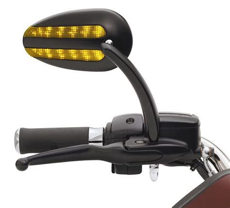 Motorrad Spiegel Harley Davidson by 92059 07v H D Spiegel Mit Zusatzbeleuchtung Und Blinker Im