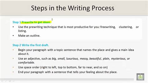 History Technical Report Writing by Technical Report Writing U4 L9 Steps In The Writing Process