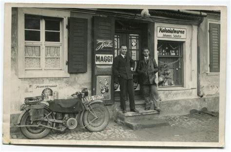 Motorrad Ankauf Zwickau by Kolonialwarenladen Mit Einigen Schildern Schilderjagd