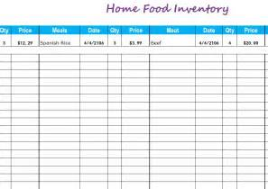 grocery inventory template grocery inventory list templates excel excel printable