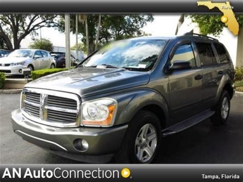 dodge durango third row seat find used dodge durango slt 3rd row seating clean carfax