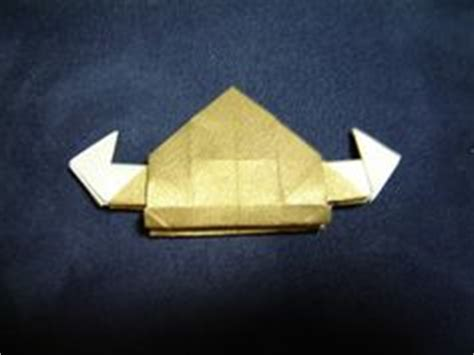 Origami Viking Hat - viking helmet money origami helmets
