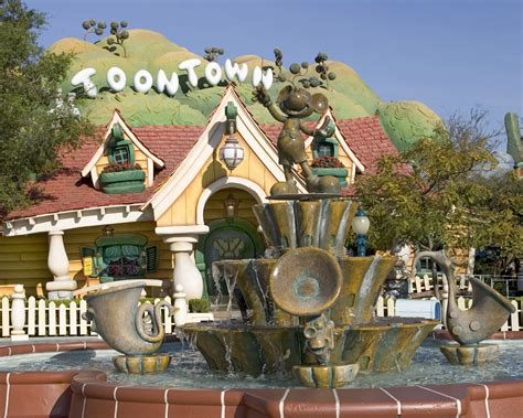 Disney Official Minnie Toontown House Ceramic - the magic of disney parks storytelling mickey s toontown