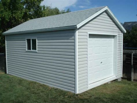 detached garages wrights shed