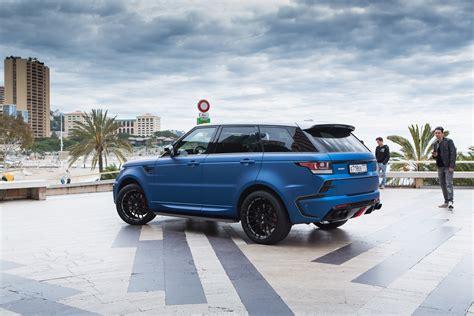 range rover blue and larte design range rover sport winner in blue and silver