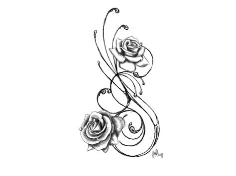 roses tattoo designs black and white 24 awesome vine designs