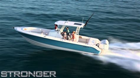 edgewater boats youtube edgewater 320cc center console running shots youtube