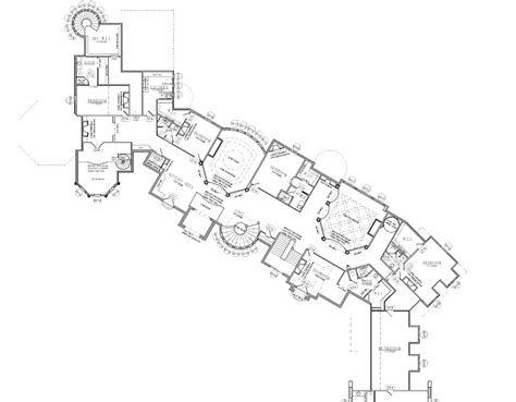 house plans over 20000 square feet 25 000 square foot mansion w floorplans mansions more