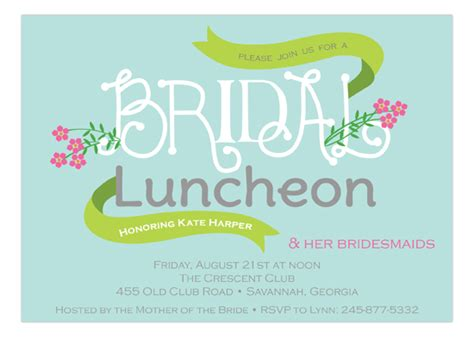 invitations for bridal shower luncheon and modern bridal shower invitations