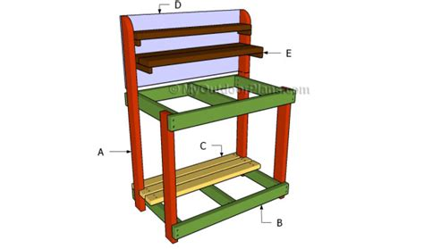 building a potting bench how to build potting shed useful