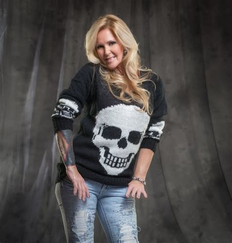 Skull Pullover Sweater   Lita Ford's Kiss Me Deadly Apparel