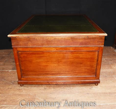 rh french partners desk antique french napoleon iii partners desk mahogany writing