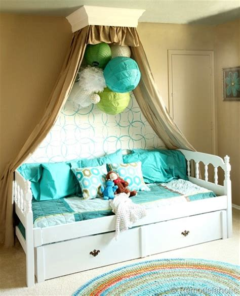 homemade canopy remodelaholic 25 beautiful bed canopies you can diy