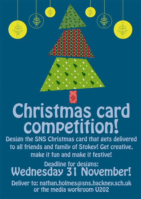card competition card competition stoke newington school