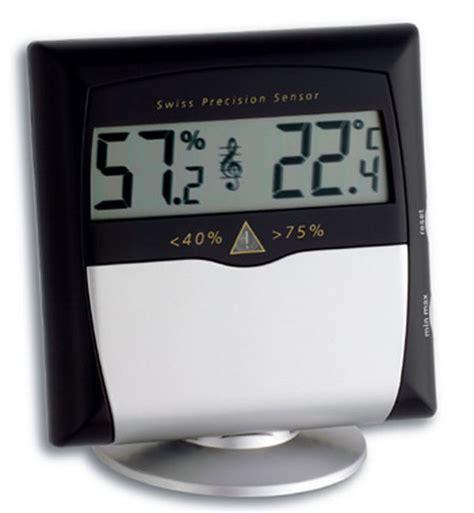Hygrometer Thermometer Digital Ruangan Tfa Dostmann Germany tfa musicontrol digital thermo hygrometer