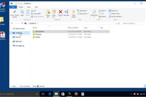 windows 10 file explorer tutorial onedrive folders in file explorer in windows 10 tutorial