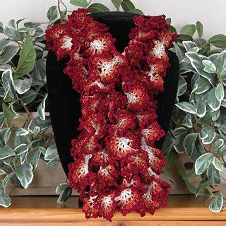 free crochet pattern hawaiian lei ravelry hawaiian lei ruffle scarf pattern by kathryn a clark