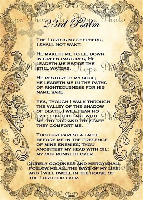 printable version of bible 186 best images about christian psalm 23 on pinterest