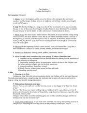 Oedipus Part 1 Analysis - Oedipus the King Play Analysis I