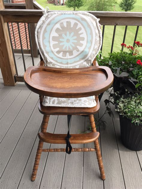High Chair Cushion For Wooden High Chairs by Wooden Highchair Cushion Pad Cover High Chair